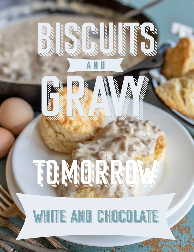 Senior biscuits and gravy