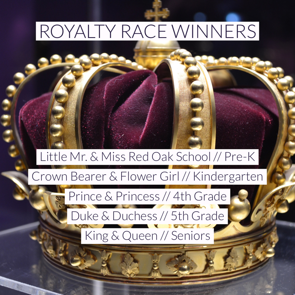 Royalty winners