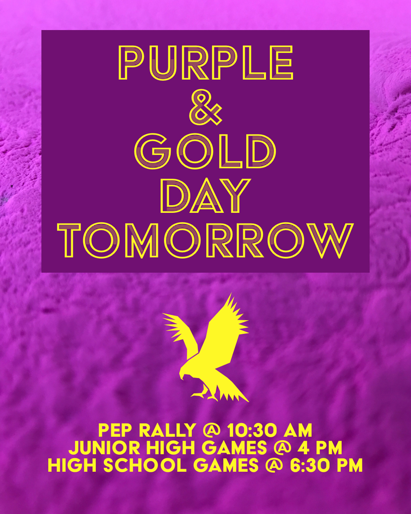 Purple gold day