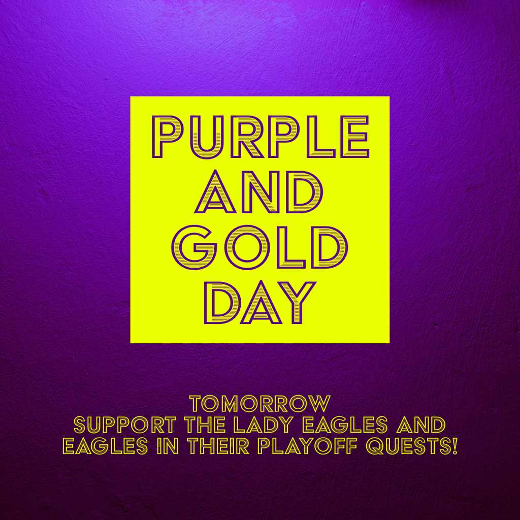 Purple gold day playoffs